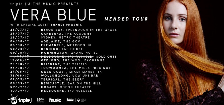 Vera Blue Announces National Tour