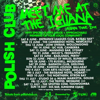 Polish Club announce 'Meet Me At The Iguana' tour and sophomore album